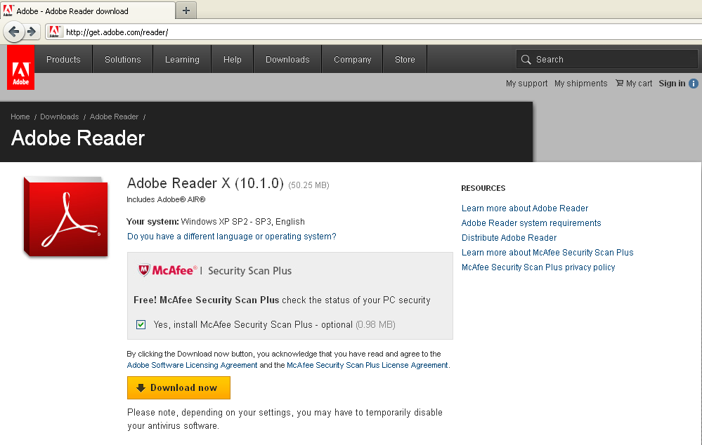 pub adobe reader